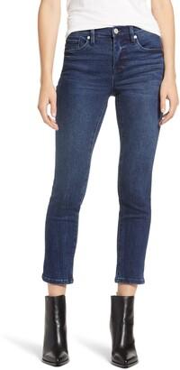 Blank NYC Madison High Waist Crop Straight Leg Jeans