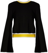 Ellery Immortal bell-sleeved cotton-jersey sweatshirt