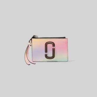Marc Jacobs The Snapshot Airbrush Top-Zip Multi Wallet