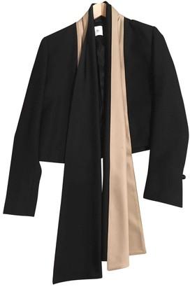 Pallas Black Wool Jackets