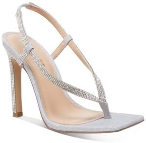 Steve Madden Winnie Harlow x Bashment Toe-Thong Sandals