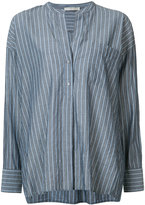 Vince striped shirt - women - Cotton - L
