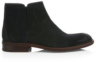 John Varvatos Star USA Waverly Suede Chelsea Boots