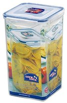 Lock & Lock Square Storage Container, 4 L - Clear/Blue