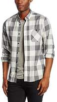 Solid !Solid Men's Regular Fit Long Sleeve Casual Shirt Black Schwarz (BLACK 9000) Kragenweite: 46 cm (Herstellergröße: XXL)