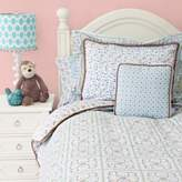 Caden Lane Modern Vintage Full/Queen Duvet Cover in Blue