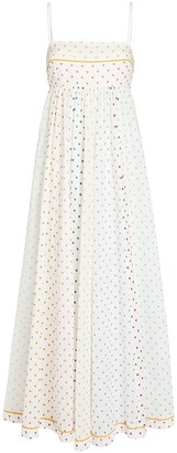 Zimmermann Bellitude Bandeau Polka Dot Dress