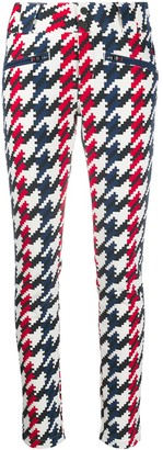 Perfect Moment Aurora houndstooth print skinny trousers