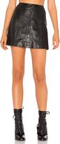 The Jetset Diaries Saraya Leather Skirt