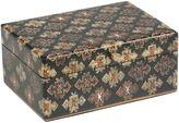 Small kilim pattern canvas box