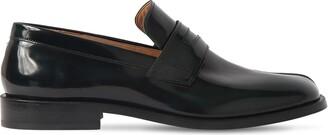 Maison Margiela Tabi Advocate Brushed Leather Loafers