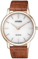 Citizen AR1133-15A Eco-Drive Stiletto Sapphire Elegant Men's Watch