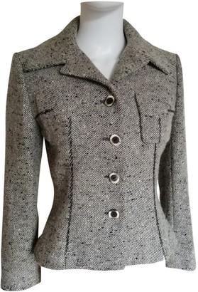 Guy Laroche Grey Tweed Jacket for Women Vintage