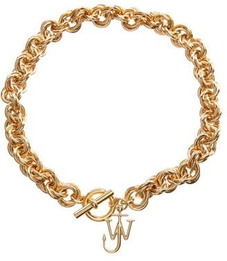 J.W.Anderson Jw-charm Gold-plated Choker - Gold