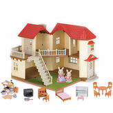 International Playthings Calico Critters Luxury Townhome Gift Set