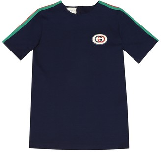 Gucci Kids Jersey tunic top