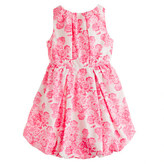 J.Crew Girls' poplin bubble dress in tea rose print