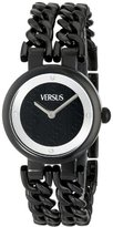 Versus By Versace Women's SGR060013 Berlin Analog Display Japanese Quartz Black Watch