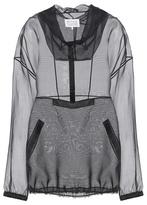 Maison Margiela Silk hoodie