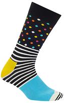 Happy Socks Exclusive Stripe Dot Socks, One Size, Multi