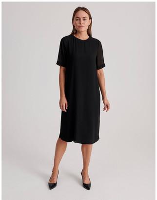 Regatta Short Sleeve Sheer Dress