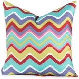 Crayola Mixed Palette Chevron 18-Inch Square Throw Pillow