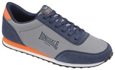 Lonsdale Grey/navy/orange 'broughton Mix' Trainers