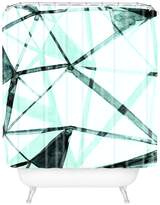 Deny Designs Urban Glass Shower Curtain