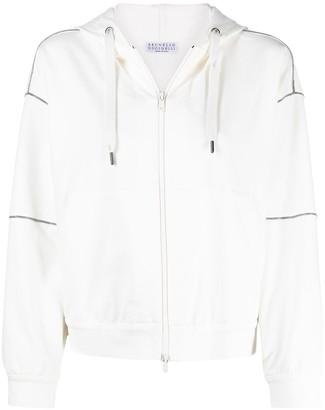 Brunello Cucinelli Monili chain-detail hoodie