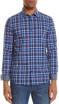 Michael Kors Jonah Check Slim Fit Button-Down Shirt - 100% Exclusive