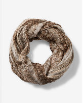 Express Metallic Sequin Loop Scarf