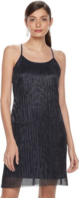 Women's Hope & Harlow Sleeveless Halter Strap Keyhole Dress