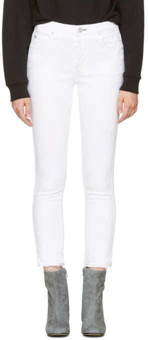Amo White Babe Jeans