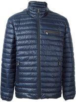 Closed zip pocket padded jacket