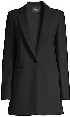 Lafayette 148 New York Women's Beau Stretch-Wool Blazer - Size 0