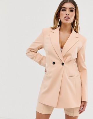 Asos Design DESIGN suit blazer in camel-Beige
