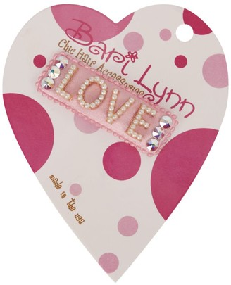 Bari Lynn Pearl and Crystal Love Hairclip