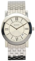 Gucci 5200M.1 Stainless Steel with Silver Dial 35mm Mens Watch