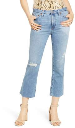 AG Jeans Jodi Distressed Crop Flare Jeans (19 Years Hollow Destructed)