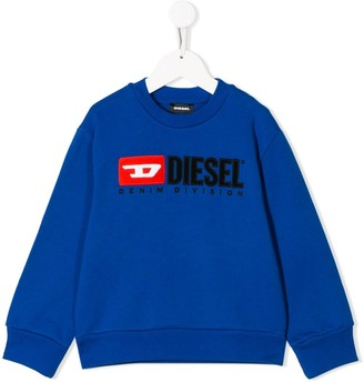 Diesel Embroidered Logo Patch Sweatshirt