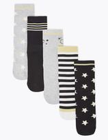 Marks and Spencer 5 Pack of Patterned Socks