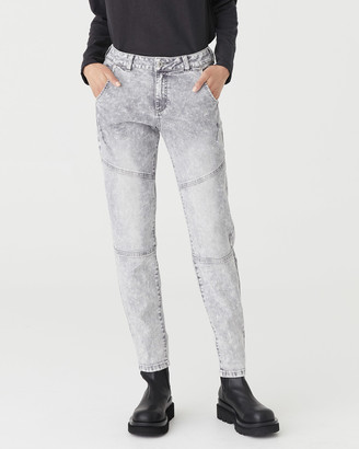 Jac & Mooki - Women's Boyfriend - Lindy Jeans - Size One Size, 26 at The Iconic