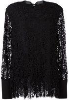 Ermanno Scervino lace flared blouse - women - Silk/Cotton/Polyamide/Viscose - 44