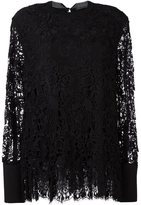 Ermanno Scervino lace flared blouse