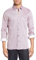 Ted Baker Men's 'The Funk' Trim Fit Sport Shirt