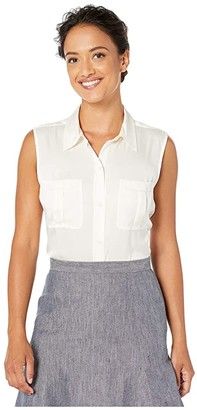 UNTUCKit Lirac (White) Women's Clothing