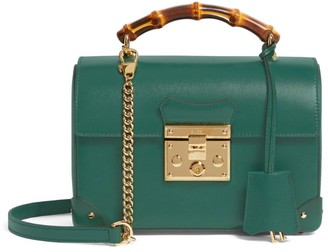 Gucci Small Leather Padlock Shoulder Bag