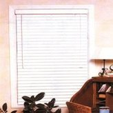 """Homebasix 29""""WX64""""H FAUX WOOD BLINDS WHT (Pack of 4)"""