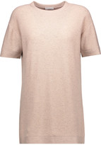 Brunello Cucinelli Embellished cashmere-blend top