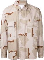 Monkey Time camouflage print shirt - men - Cotton - L